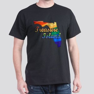 Treasure Island, Florida, Gay Pride, Dark T-Shirt