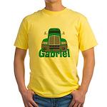 Trucker Gabriel Yellow T-Shirt