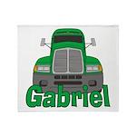 Trucker Gabriel Throw Blanket