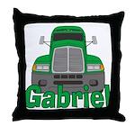 Trucker Gabriel Throw Pillow