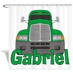 Trucker Gabriel Shower Curtain