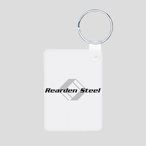 Rearden Steel Aluminum Photo Keychain