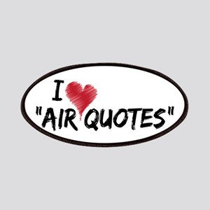 """I love """"Air Quotes"""" Patches"""