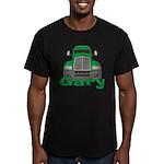 Trucker Gary Men's Fitted T-Shirt (dark)