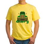Trucker Gary Yellow T-Shirt