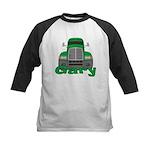 Trucker Gary Kids Baseball Jersey