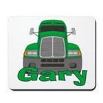 Trucker Gary Mousepad