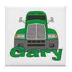 Trucker Gary Tile Coaster