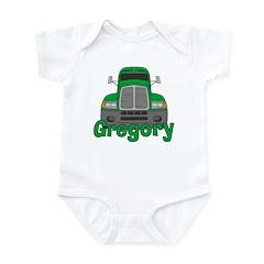 Trucker Gregory Infant Bodysuit