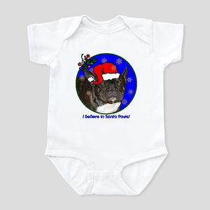 SANTA PAWS Frenchie Infant Bodysuit