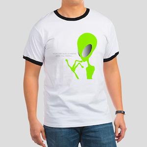Green Alien talks T-Shirt