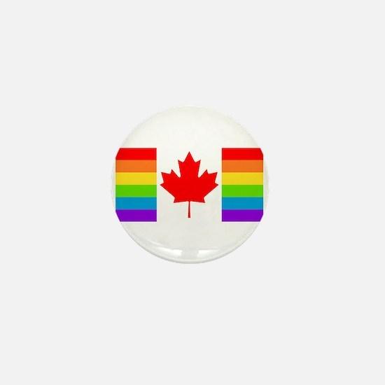 Canadian Pride Flag Mini Button