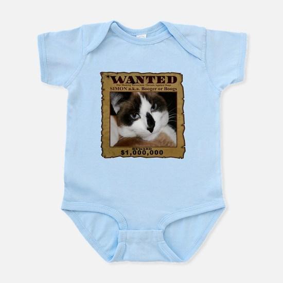 Simon: Wanted Infant Bodysuit