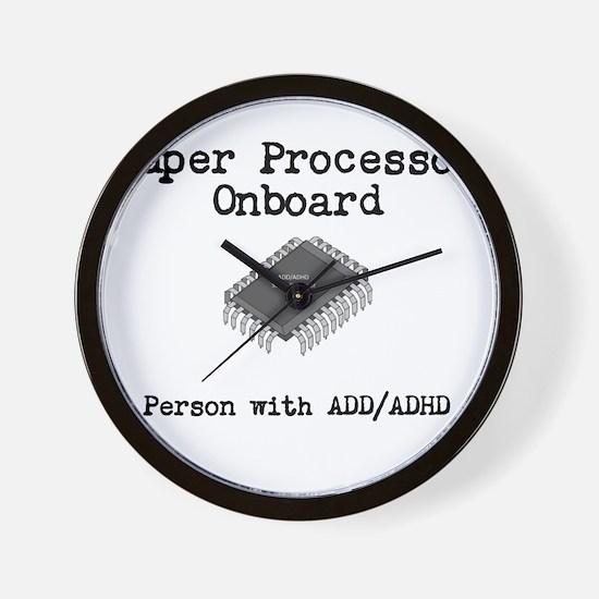 Super Processor Wall Clock