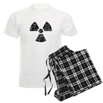 Vintage Radioactive Symbol 1 Men's Light Pajamas