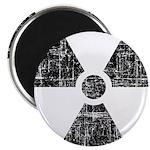 Vintage Radioactive Symbol 1 Magnet
