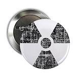 Vintage Radioactive Symbol 1 2.25