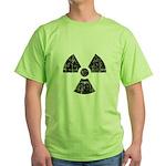 Vintage Radioactive Symbol 1 Green T-Shirt