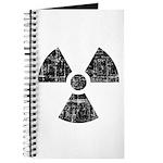 Vintage Radioactive Symbol 1 Journal