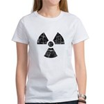 Vintage Radioactive Symbol 1 Women's T-Shirt