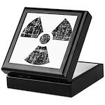 Vintage Radioactive Symbol 1 Keepsake Box