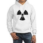 Vintage Radioactive Symbol 1 Hooded Sweatshirt