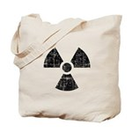 Vintage Radioactive Symbol 1 Tote Bag