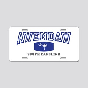 Awendaw South Carolina, SC, Palmetto State Flag Al