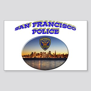 SFPD Skyline Sticker (Rectangle)