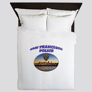 SFPD Skyline Queen Duvet