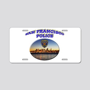 SFPD Skyline Aluminum License Plate