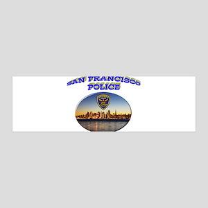 SFPD Skyline 42x14 Wall Peel