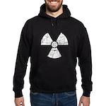 Vintage Radioactive Symbol 1 Hoodie (dark)