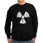 Vintage Radioactive Symbol 1 Sweatshirt (dark)