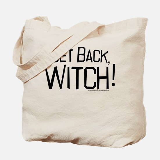 Get Back Witch Tote Bag