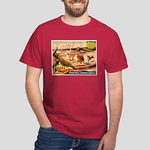 Sells Brothers Circus Sacred Zebu Dark T-Shirt