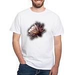 White Cactus Flower White T-Shirt