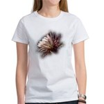 White Cactus Flower Women's T-Shirt