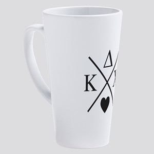 Kappa Delta Chi Sorority 17 oz Latte Mug
