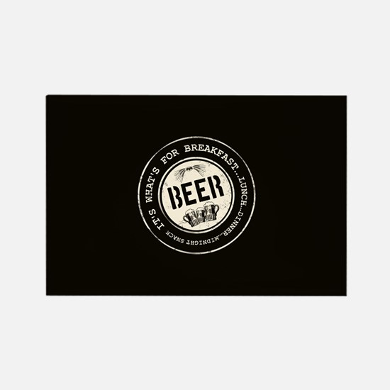 Beer Mania Gift Rectangle Magnet