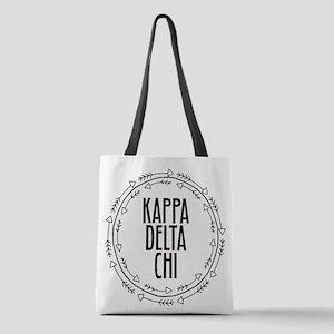 Kappa Delta Chi Sorority Arrow Polyester Tote Bag