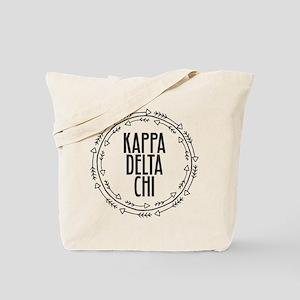 Kappa Delta Chi Sorority Arrow Tote Bag