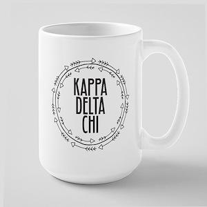 Kappa Delta Chi Sorority Arrow Mugs