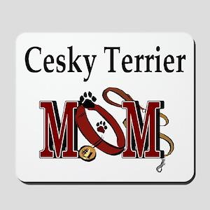Cesky Terrier Mom Mousepad