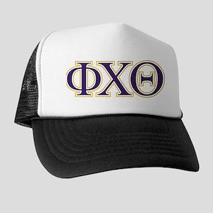 Phi Chi Theta Letters Trucker Hat