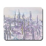 Many Saguaros Recreated Mousepad