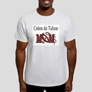 Coton de Tulear Mom Ash Grey T-Shirt