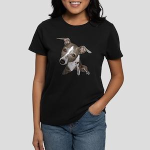 Italian Greyhound art Women's Dark T-Shirt
