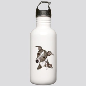 Italian Greyhound art Stainless Water Bottle 1.0L