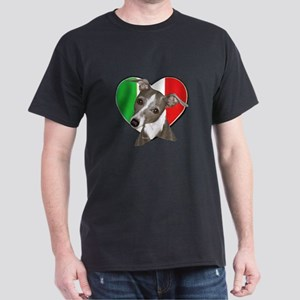 Italian Greyhound art Dark T-Shirt